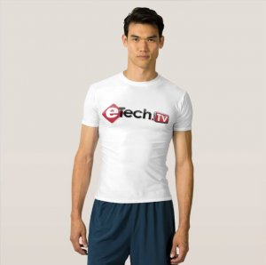 eTechTV Athletic TShirt - Men