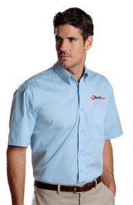 eTechTV Men's Dress Shirt